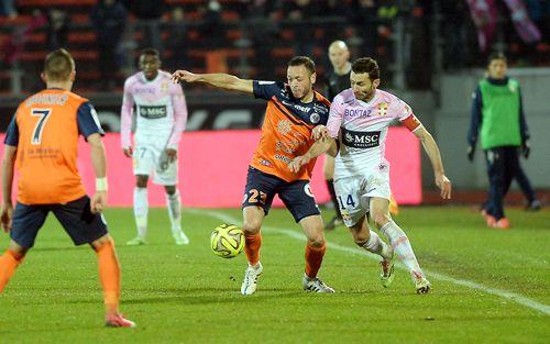Evian TG - MHSC : Les photos du match | MHSC Foot , billetterie Montpellier Hérault, mhsc match, match Montpellier, led publicitaire, panneau publicitaire led