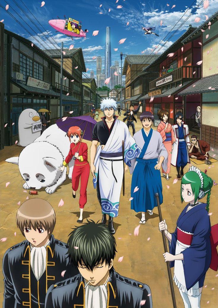 Gintama   銀魂 the other manga and anime that I love.