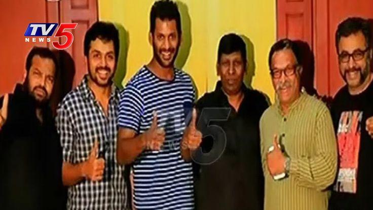 Actor Vishal Panel Grand Victory in Nadigar Sangam Elections | TV5 News
