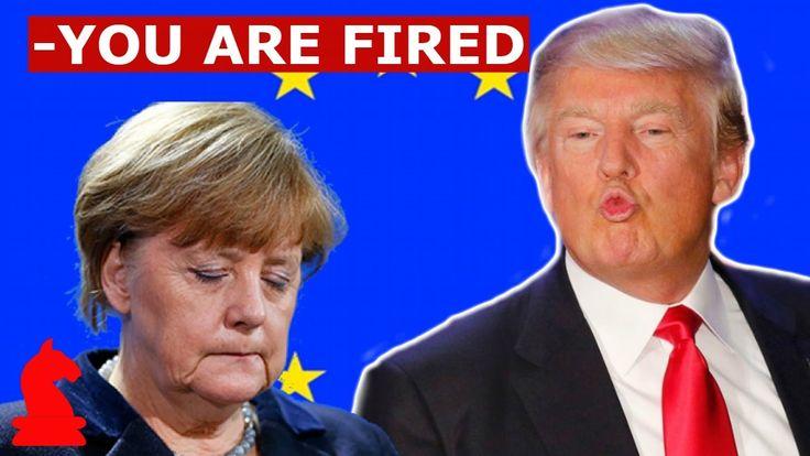 """Вот и Европе пришёл писец. Трамп """"дал пинка"""" Меркель/США"""