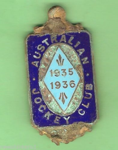 1935-1936-AUSTRALIAN-JOCKEY-CLUB-BADGE-1539-DAMAGED