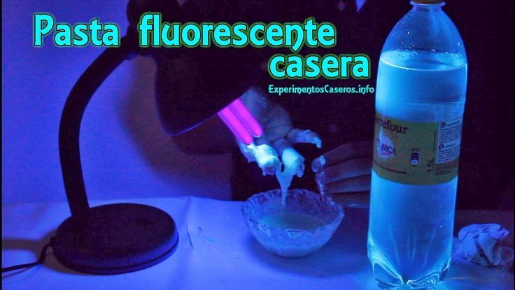 Pasta fluorescente casera, Experimentos Caseros, fluido no newtoniano, pasta mágica, maicena, maicena, experimentos, experimento, experimentos para niños, experimentos sencillos, inventos, invento, inventos caseros,feria de ciencias, quinina, invento feria de ciencias, experimentos de física