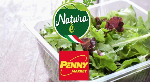 """Penny Market richiama un lotto di insalata mista """"Natura è"""", per possibile contaminazione microbiologica"""