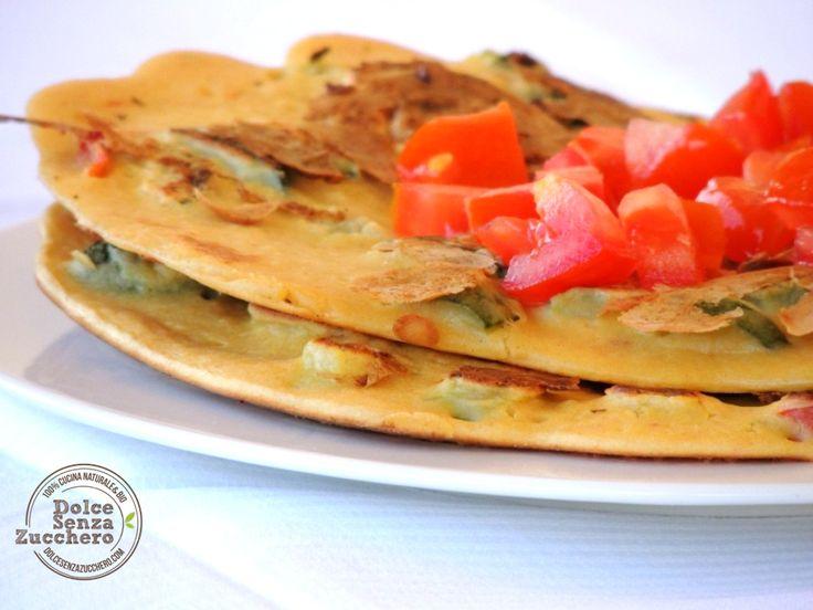 Crepes Salate con Farina di Ceci (Senza Glutine)