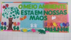 Mural meio ambiente ed. Infantil