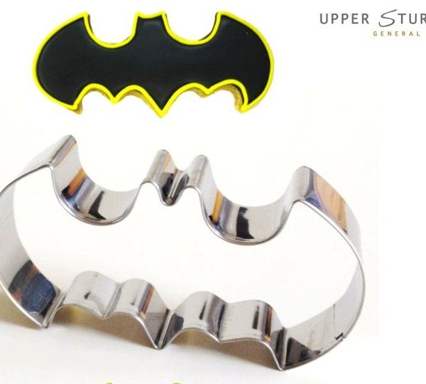 Batman Cookie Cutter $6.95 Stainless Steel Batman Cookie Cutters. Perfect for…