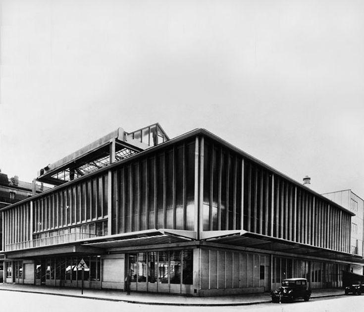 Jean Prouvé - Maison du Peuple, Clichy, 1935-39, Centre Pompidou, Paris, Bibliothèque Kandinsky.