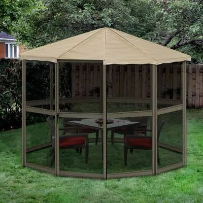 permanent gazebo - Google Search & Best 25+ Portable gazebo ideas on Pinterest | Outdoor canopy ...