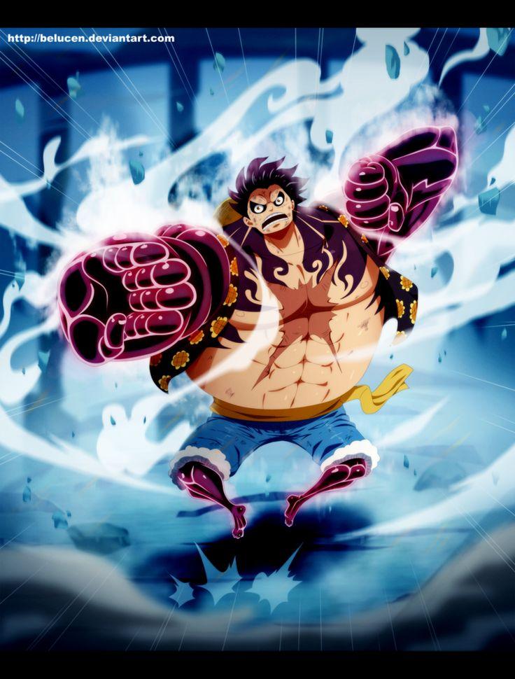 Luffy Gear 4 Tattoo: Gear Fourth By BelucEn On DeviantArt