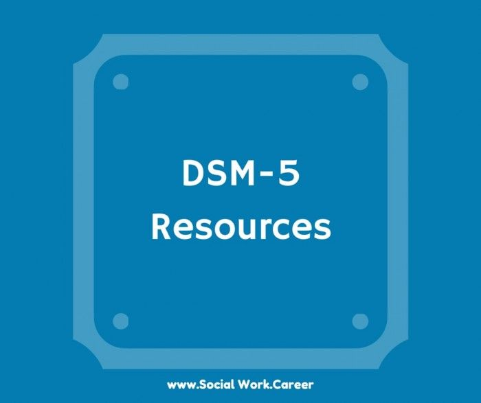 DSM-5 handouts and webinar recordings (all free) to help social workers and other mental health professionals get updated on all the DSM 5 changes.
