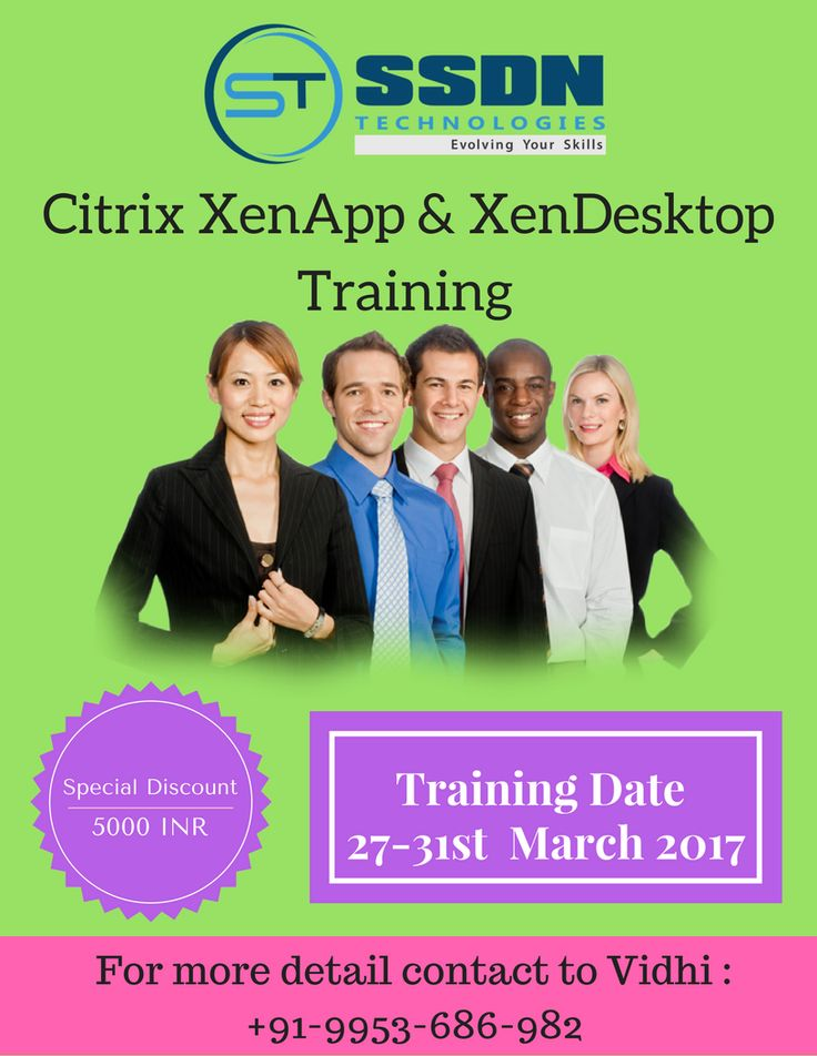 #Discounted #Citrix_Certification Training classes at SSDN Technologies https://goo.gl/TP1q9C