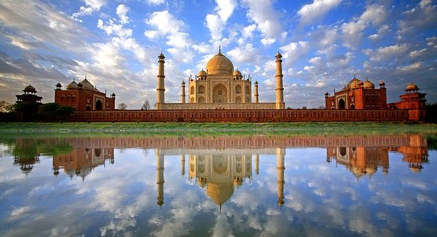 Taj Mahal tour by air, car or train as suited. Same day Taj Mahal tour is a trip that proves out to one of the most amazing experience in a person's life.
