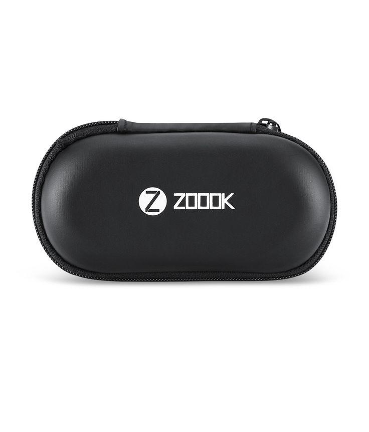 Zoook Rocker Soulmate Wireless BT Splashproof Stereo Earphones with Mic (Black)