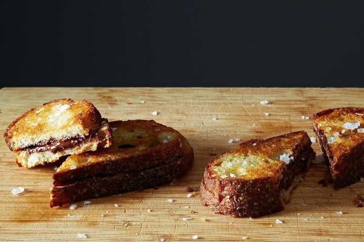Grilled Chocolate Sandwiches recipe on Food52