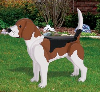 3D Life-Size Beagle Woodcraft Pattern Make this realistic-looking, life-size Beagle. #diy #woodcraftpatterns