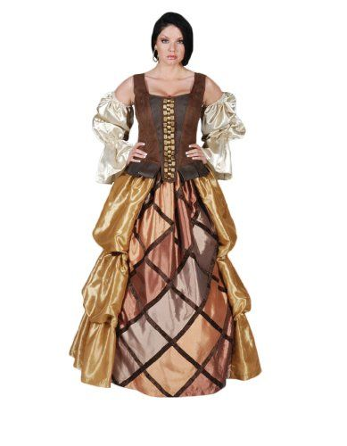 Women's Lady Pirate Gown Deluxe Theatre Costume, Medium Tabi's Characters http://www.amazon.com/dp/B00FKCIUGO/ref=cm_sw_r_pi_dp_KXm8vb09526ZS