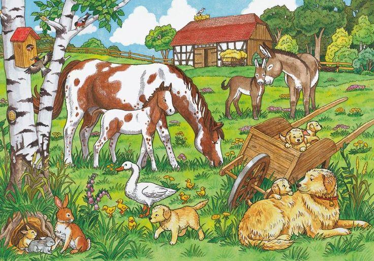Praatplaat boerderijdieren