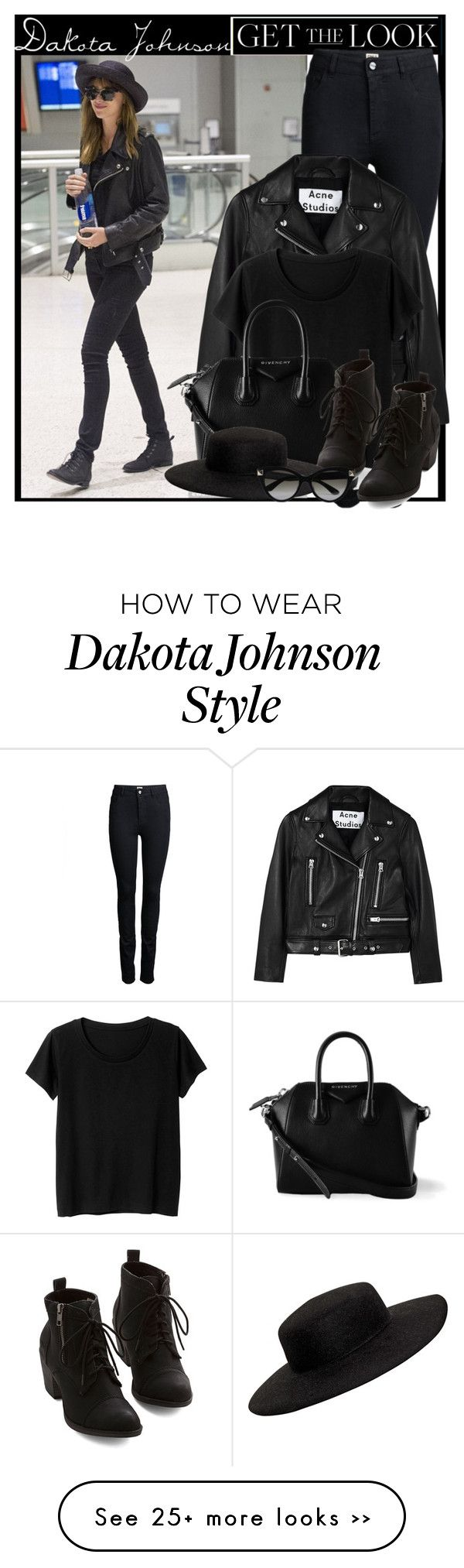 """Get The Look - 50 Shades of Grey co-star - Dakota Johnson"" by anne-mclayne on Polyvore"