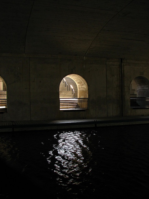 "The Rideau Canal beneath the Plaza Bridge, Ottawa. ""Hidden Canal"" by LexnGer, via Flickr"