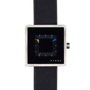 Hygge 2089 Series Square Watch Black | Fab