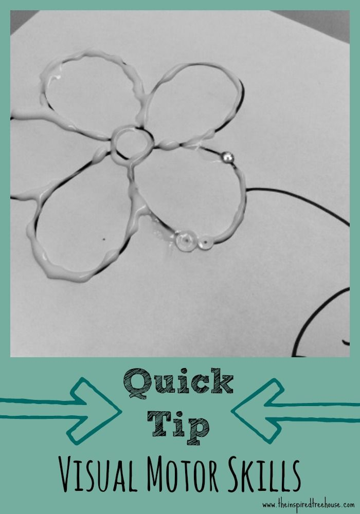 Looking for an easy way to work on visual motor skills with kids?  Try this occupational therapist approved quick tip!  #visualmotorintegration #quicktip #pediot