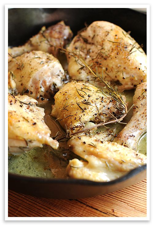 Basic Roasted Chicken: A simple and quick way to roast a whole chicken ...