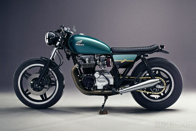 Honda CB650 by Bunker Custom Cycles. Nice and clean, does seem to miss something in the rear though.