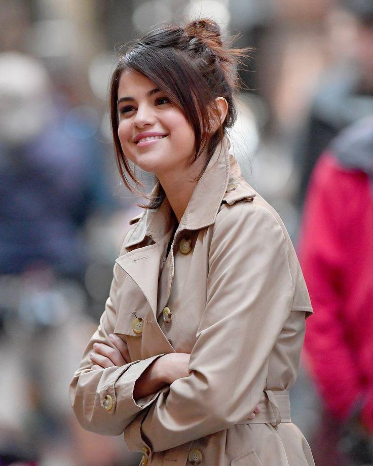 Selena Gomez on set of...