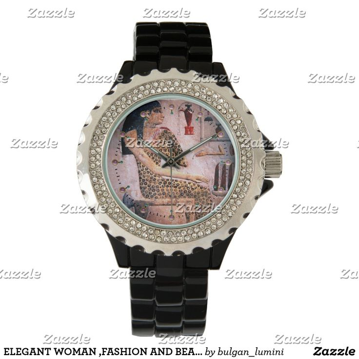 ELEGANT WOMAN ,FASHION AND BEAUTY OF ANTIQUE EGYPT WRISTWATCH  #cosmetics #cosmetologist #cosmetology #makeup #watches