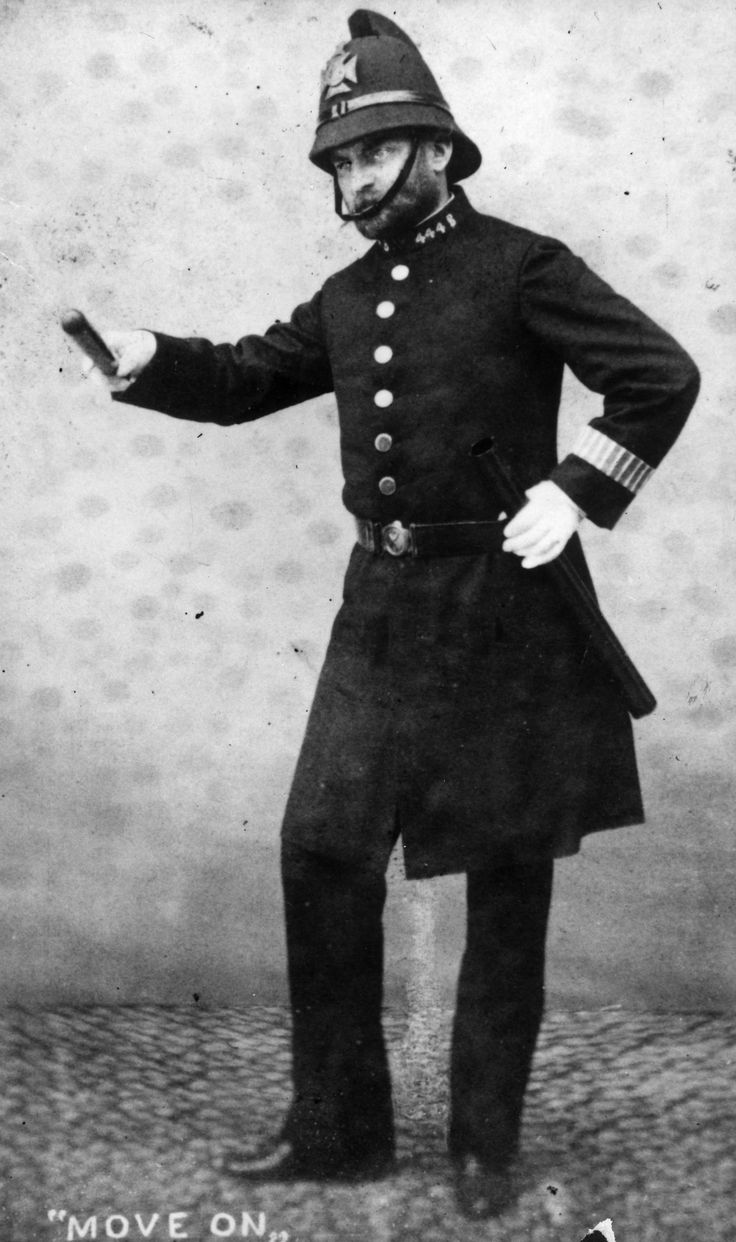 The term 'cop' came from England - an acronym for 'Constable On Patrol'