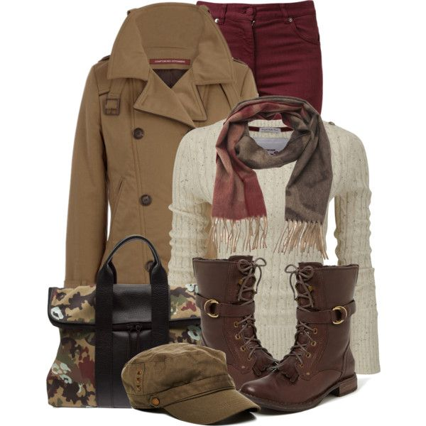 """Military Style"" by brendariley-1 on Polyvore:"