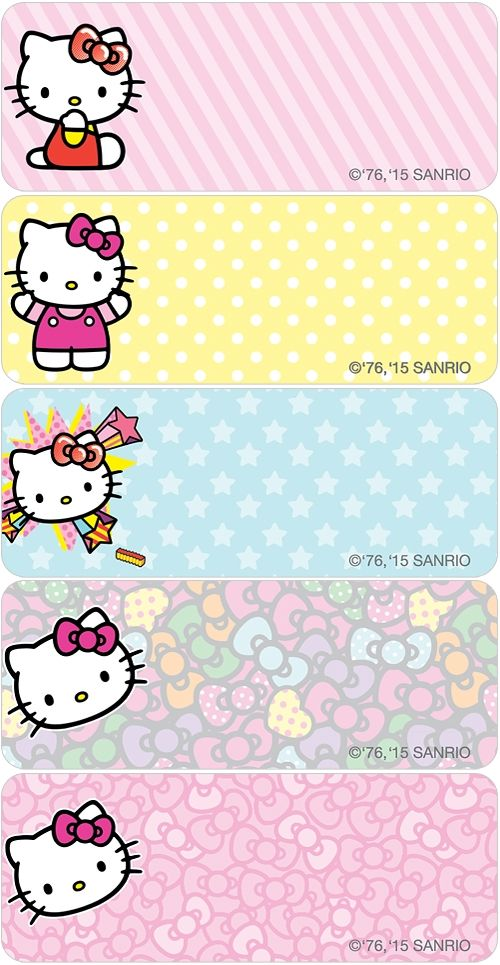 Hello Kitty® Pop Address Labels
