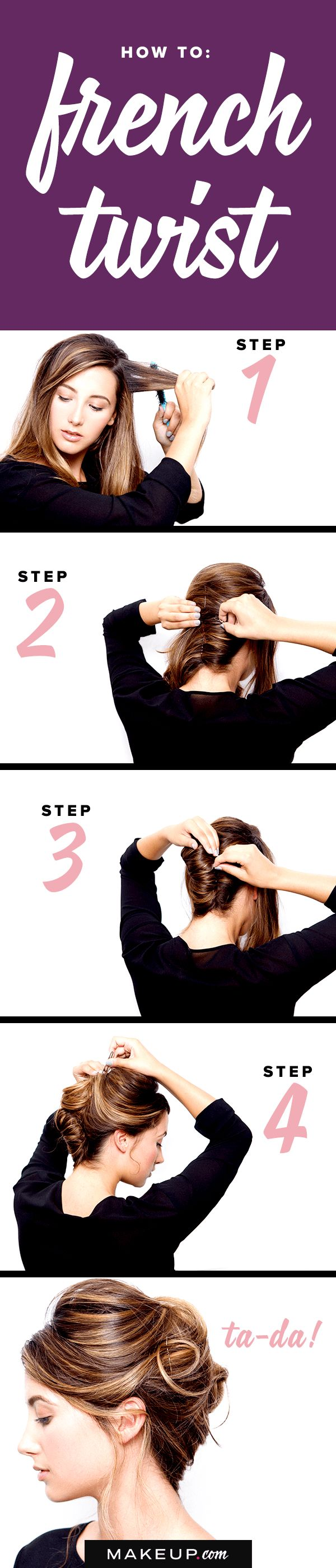 How to: French Twist @Makeupdotcom