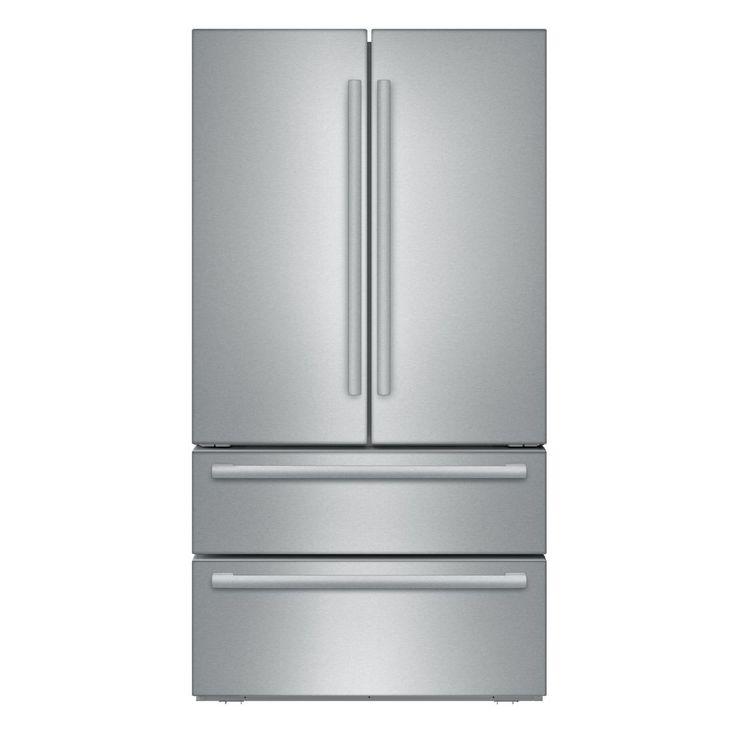 800 Series Full Size 36 Inch French Door Bottom Freezer