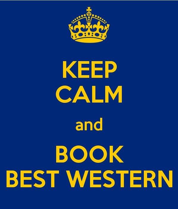 Book Best Western :-)