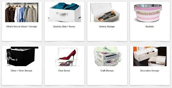 Shop on line per materiale organizzativo - Site to buy organizing materials
