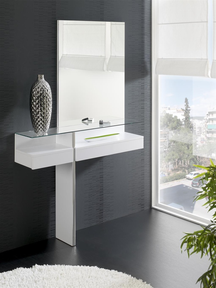 Melrose Is A Modern Dressing Table Available In Black Or White, An  Exclusive Piece Of Furniture That Lends A Unique Decorative Touch To Youru2026