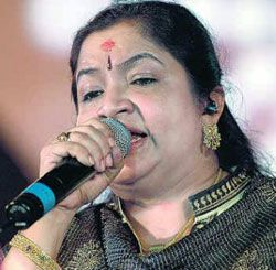 "K.S. Chithra, credited as Chitra, is a six time National film awards winning singer who has made her mark in the Indian (film) playback industry. Known as the ""Nightingale of South India"", she has lent her voice to Malayalam, Tamil, Telugu, Kannada, Oriya, Hindi, Assamese and Bengali films"