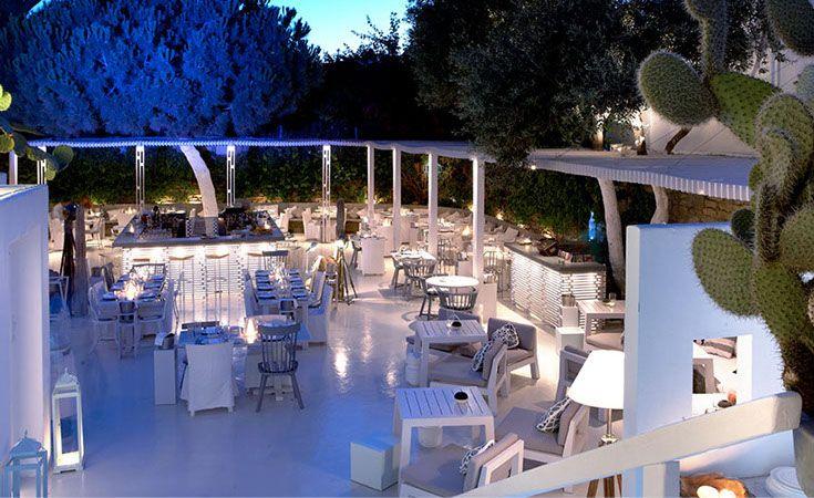 interni, mykonos, restaurant