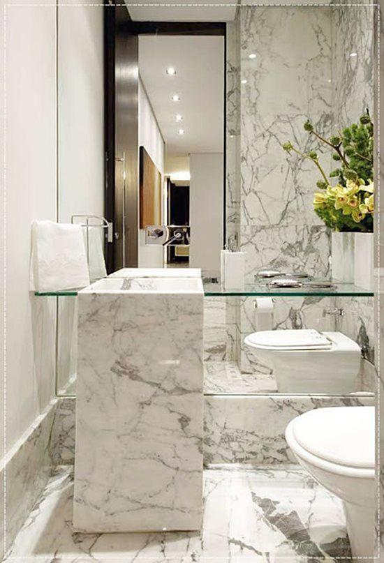 banheiro marmore