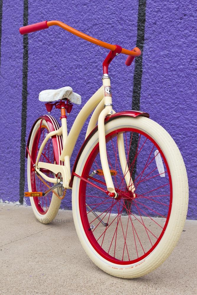 Francesca #Vanilla #Red #Orange villycustoms.com