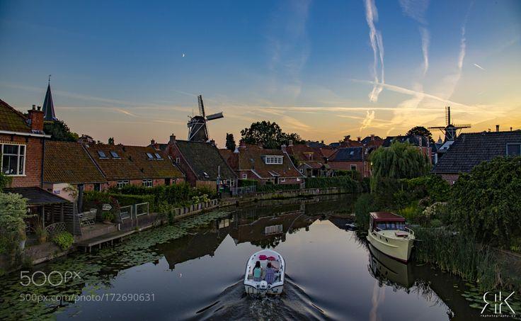 """Summernight in Winsum"" by RKphotographer"