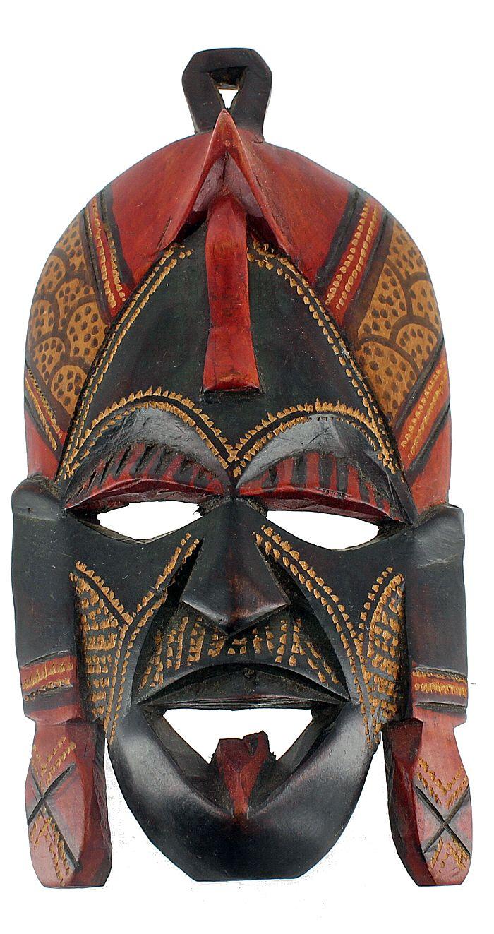 ghanaian wood mask