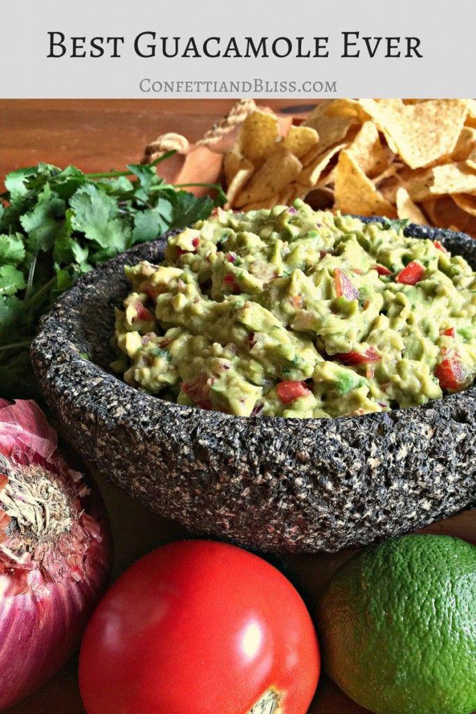 Best Guacamole Recipe Ever | Confetti & Bliss