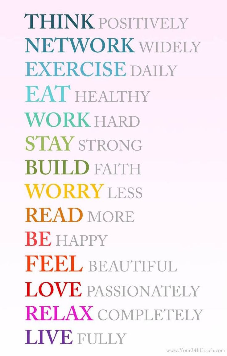 Do at least one each day! Live exceptionally! #Life #Coaching www.Your24hCoach.com
