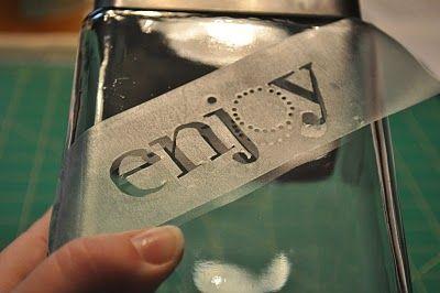 Martha Shmartha: Glass Etching 101
