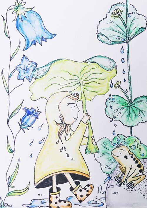 Monas Flowers - Rainy Day