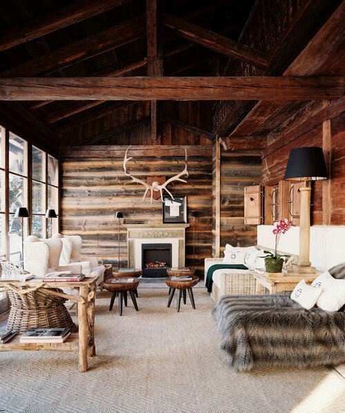Oltre 1000 idee su interior design di baita su pinterest for Rustic hunting cabins