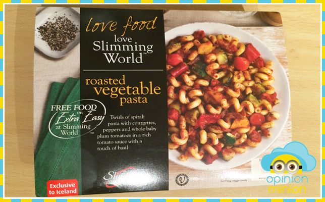 SLIMMING WORLD ICELAND MEALS, ROASTED VEGETABLE PASTA (SLIMMING WORLD VEGETARIAN)  It's all very well eating healthily but honestly there are some nights you just can't face standing in the kitchen for hours, figuring out syn allowances and checking your cupboards for low-fat flavourings. Enter the range of Slimming World instant meals, which you can buy at Iceland. Now as a …
