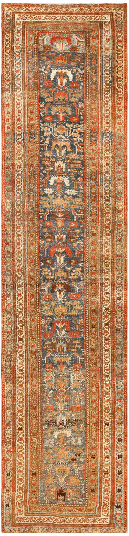 Antique Persian Bidjar Runner Rug 48559